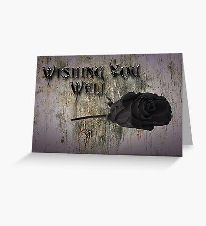 Wishing You Well Greeting Card