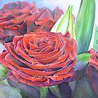 Bouquet de roses by cindybarillet