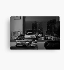 DR. KNOW Canvas Print