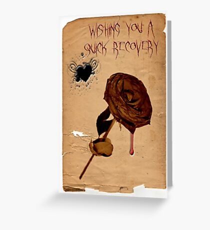 Wishing You A Quick Recovery Greeting Card