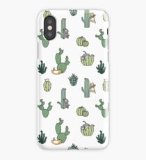 Cacti Cats iPhone Case/Skin