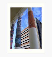Cosy Columns 1 Art Print