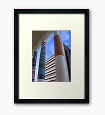 Cosy Columns 1 Framed Print
