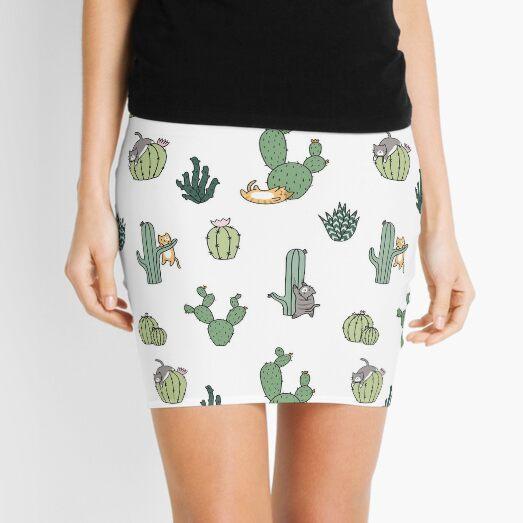Chats Cactus Minijupe