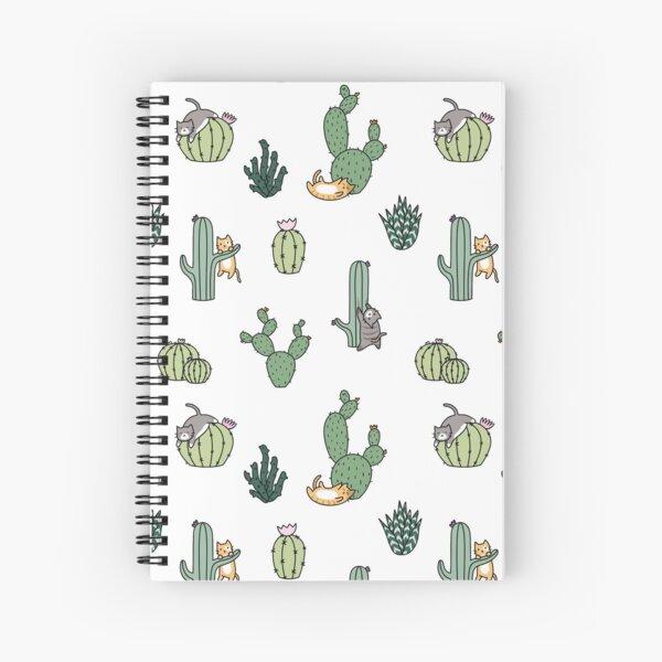 Gatos De Cactus Cuaderno de espiral