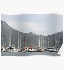 Yachts - Hout Bay Harbour Poster