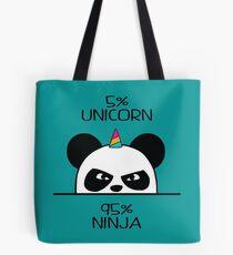 Unicorn Ninja Panda Tote Bag