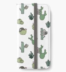 Cacti Sloths iPhone Wallet/Case/Skin