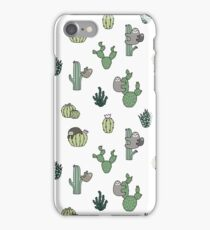Cacti Sloths iPhone Case/Skin