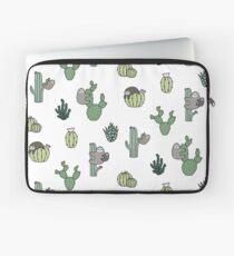 Cacti Sloths Laptop Sleeve