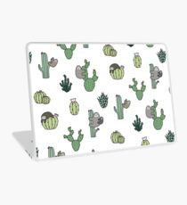 Cacti Sloths Laptop Skin