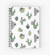 Cacti Sloths Spiral Notebook