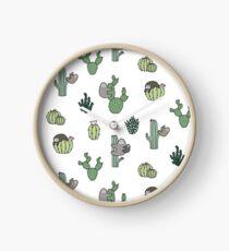 Cacti Sloths Clock