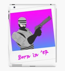 Robocop - Born in 1987 iPad Case/Skin