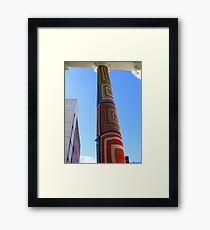 Cosy Columns 2 Framed Print