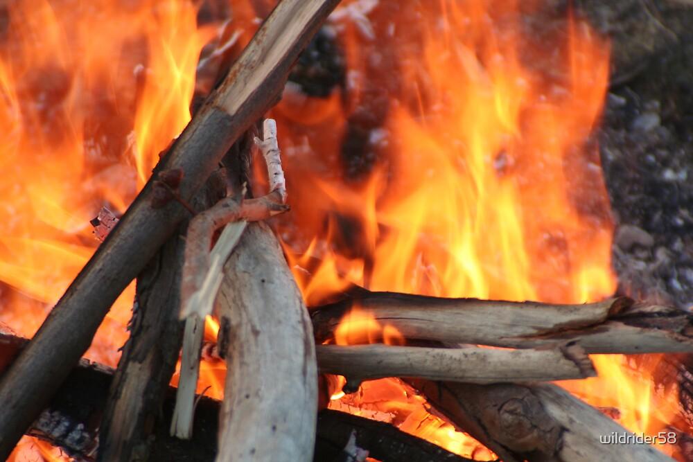 camp fire by wildrider58