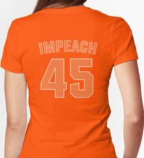 IMPEACH 45 Womens Fitted T-Shirt