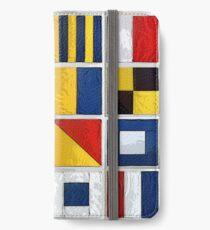 Vinilo o funda para iPhone banderas náuticas