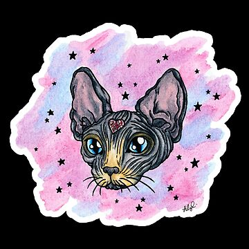 Sparkle Sphynx Cat by LillianCuda