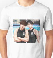 Jin and Jungkook Olympics!AU Unisex T-Shirt