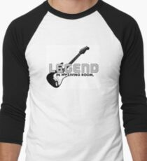 Legend in My Living Room Merchandise Men's Baseball ¾ T-Shirt