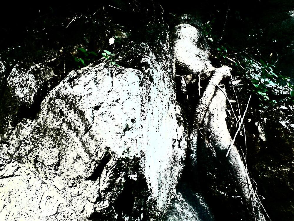 Lady in Distress by Richard  Durocher