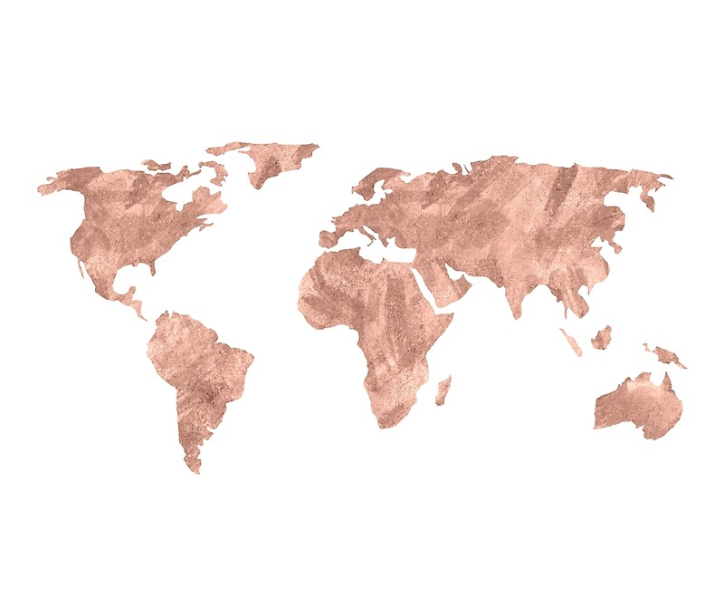 World Map Tapestry Gold Choice Image Diagram Writing