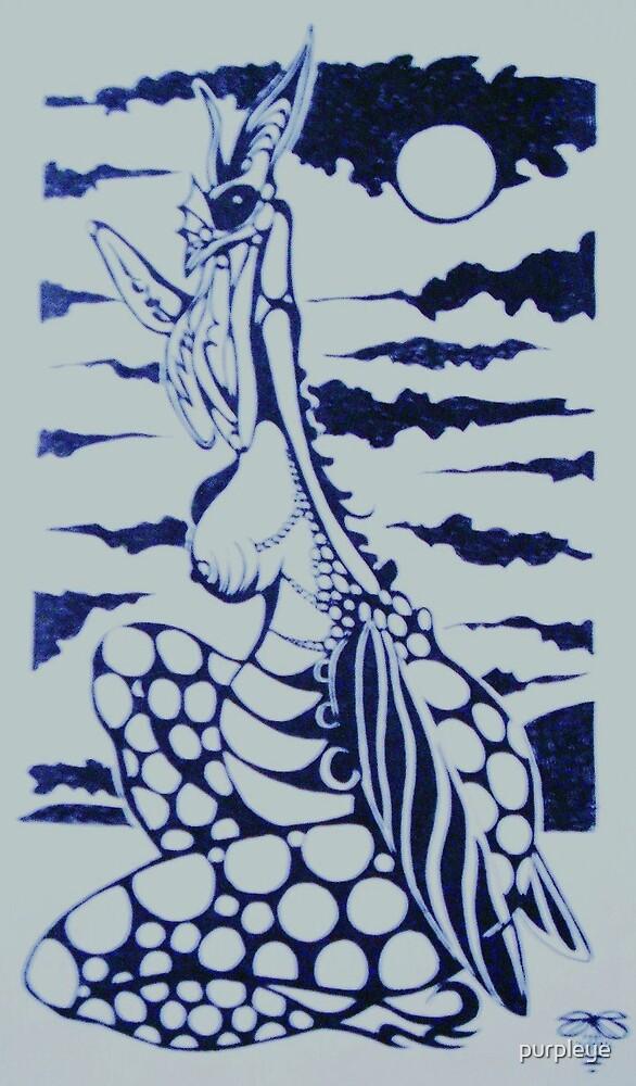 """Praying Mantis"" by purpleye"