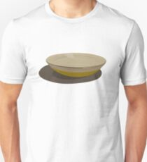 Wooden fruit bowl - shadow Unisex T-Shirt
