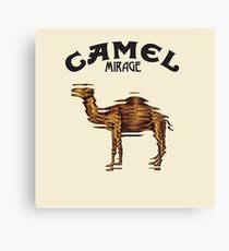 Camel Mirage Band Canvas Print