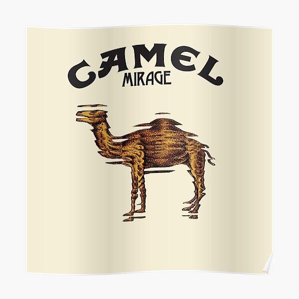 Camel Mirage Band Poster