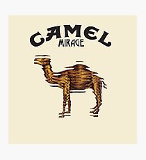 Camel Mirage Band Photographic Print