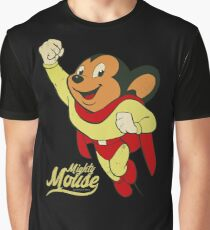 Mighty Mouse - TV Shows  Graphic T-Shirt