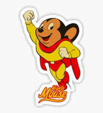 Mighty Mouse - TV Series Sticker