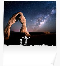Rick and Morty Delicate Arch Poster