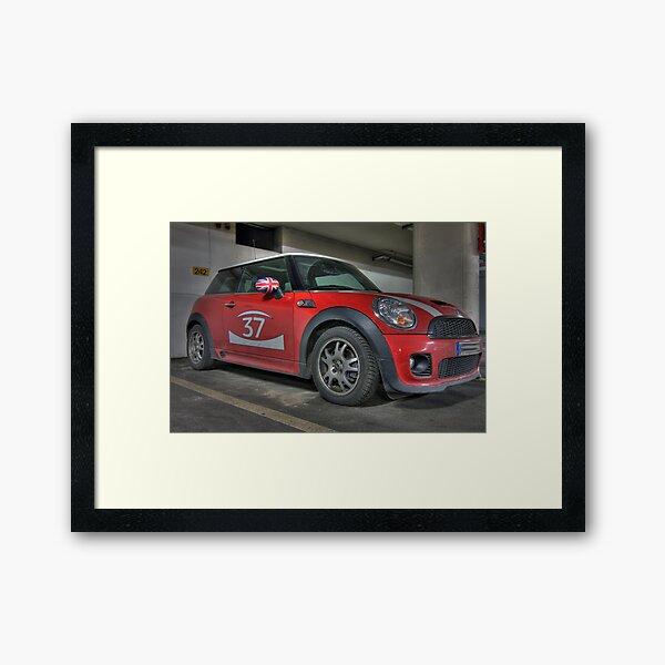 Mini Cooper S - GB 37 Framed Art Print