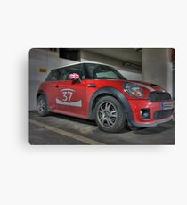 Mini Cooper S - GB 37 Canvas Print