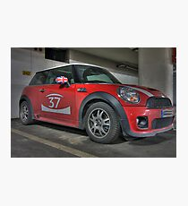 Mini Cooper S - GB 37 Photographic Print