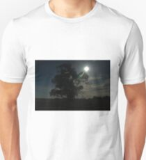 Silhouetted tree Unisex T-Shirt