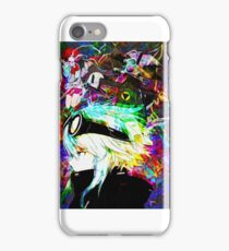 Three Fold Manga Space aa iPhone Case/Skin
