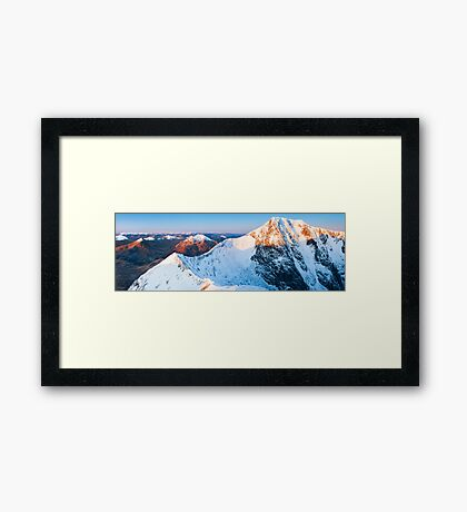 Ben Nevis at sunrise, Scotland Framed Print