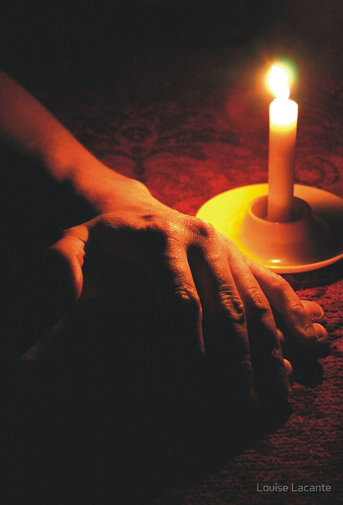 candlelight by Louise Lacante