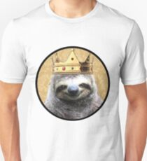 Sloth king Unisex T-Shirt