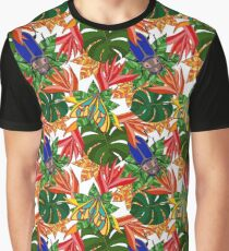 TropicalJungle Graphic T-Shirt