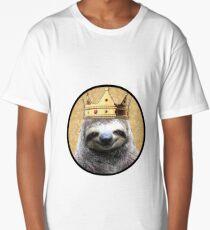 Sloth king Long T-Shirt