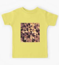 Abstract geometric Background #2 Kids Tee