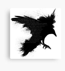 I Welcome The Valkyries Canvas Print