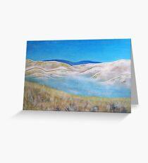 Lakeside . Acrylic Painting Greeting Card
