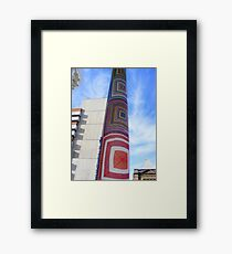 Cosy Columns 3 Framed Print