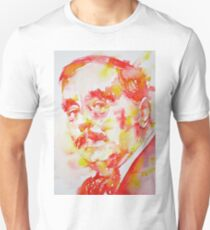 H. G. WELLS - watercolor portrait T-Shirt